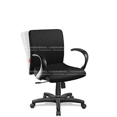 Cadeira Escritório Diretor Giratória com Braços Cerri CRD01