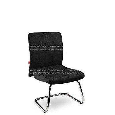 Cadeira Diretor Fixa Interlocutor Atendimento Cerri CRD53