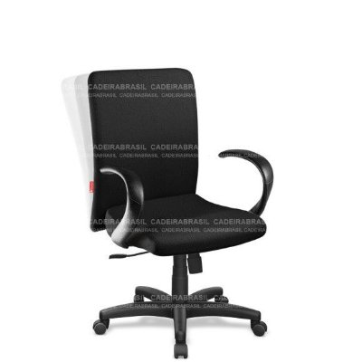 Cadeira Escritório Presidente Giratória com Braços Cerri CRP02