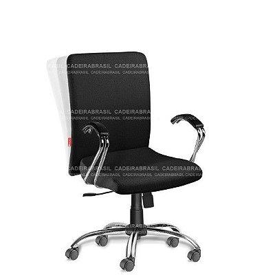 Cadeira Escritório Presidente Giratória com Braços Cerri CRP52