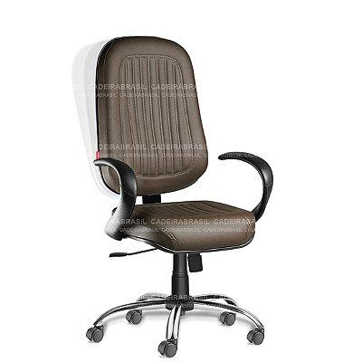Cadeira Presidente Giratória Milão MLP52 Cadeira Brasil