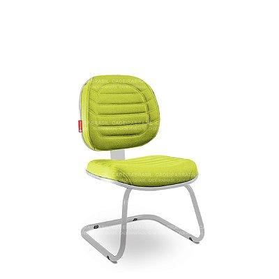 Cadeira Fixa Executiva Lacerta LCE89 Cadeira Brasil