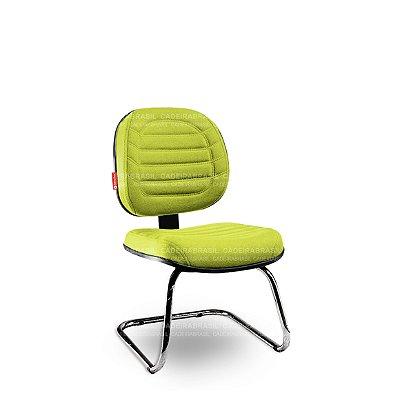 Cadeira Fixa Executiva Lacerta LCE59 Cadeira Brasil