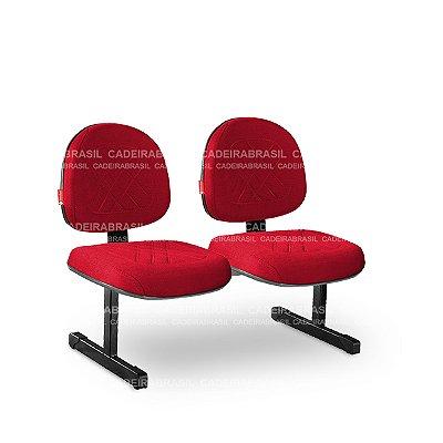 Longarina 2 Lugares Executiva Senna SNE13 Cadeira Brasil