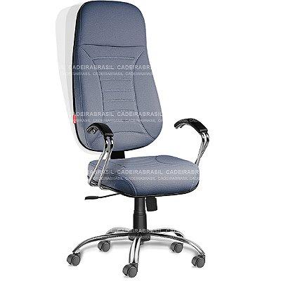 Cadeira Presidente Extra Giratória Firenze FRP51 Cadeira Brasil