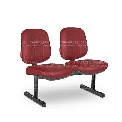 Longarina 2 Lugares Diretor Operativa OPD08 Cadeira Brasil
