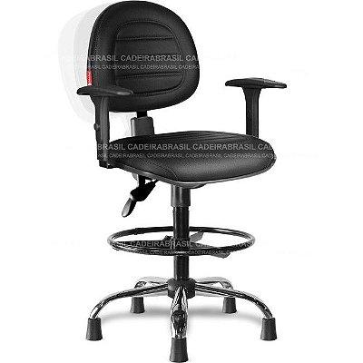 Cadeira Caixa Ergonômica Executiva Parma PRE53 Cadeira Brasil