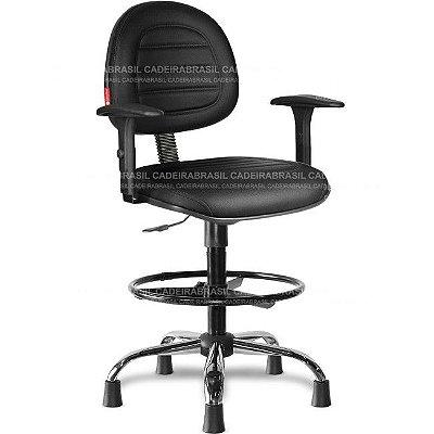 Cadeira Caixa Executiva Giratória Parma PRE57 Cadeira Brasil