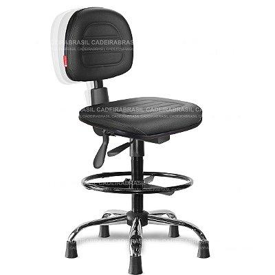 Cadeira Caixa Ergonômica Secretária Parma PRS54 Cadeira Brasil