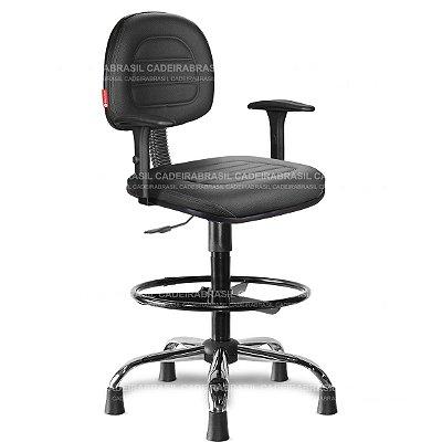 Cadeira Caixa Giratória Secretária Parma PRS57 Cadeira Brasil