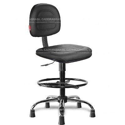Cadeira Caixa Giratória Secretária Parma PRS58 Cadeira Brasil