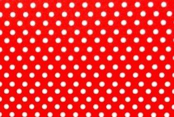 Papel Poá Vermelho-Branco 180g/m² A4 pacote com 25 folhas
