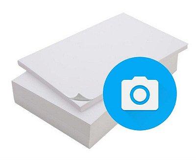 Papel Adesivo Fotográfico Glossy 135g/m² A4 pacote com 20 folhas