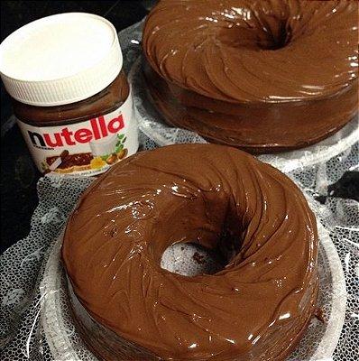 Bolo de Nutella