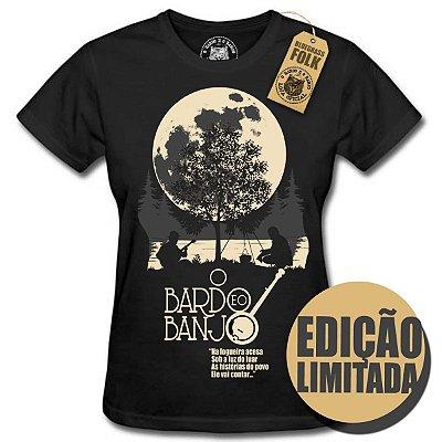 Camiseta Moda de Banjo Feminina (Edição Limitada)