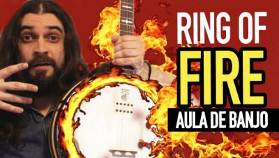 Ring of Fire - Aula de Banjo Americano
