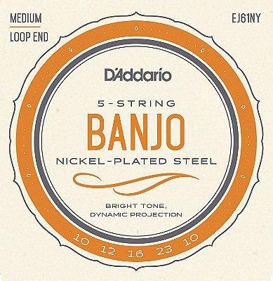 Cordas para Banjo D'Addario (banjo 5 cordas, country, bluegrass, encordoamento)