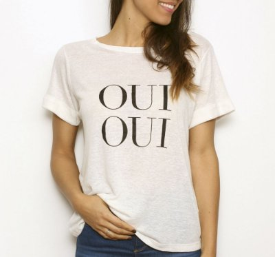 Camiseta Oui Oui