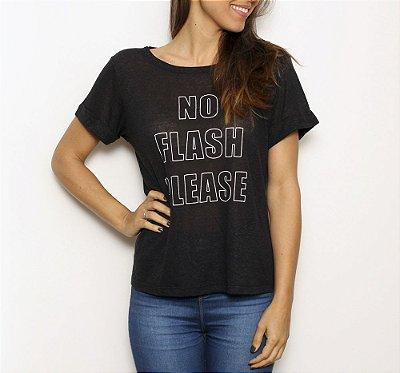 Camiseta No Flash Please