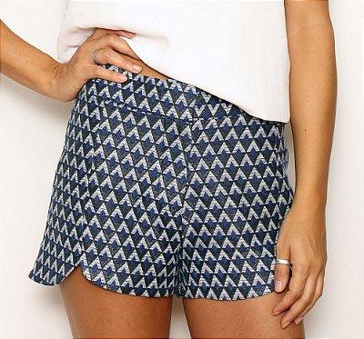 Shorts Milão Azul