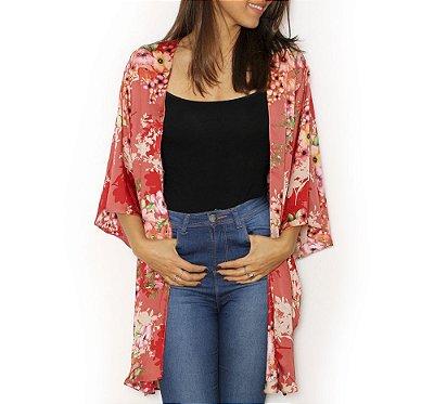 Kimono Trancoso Florido