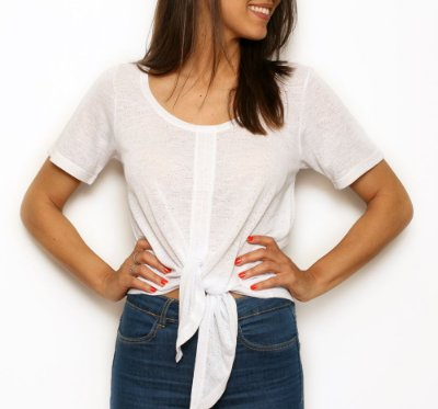 Camiseta Nó Branca