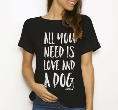 All you ned is love and a DOG