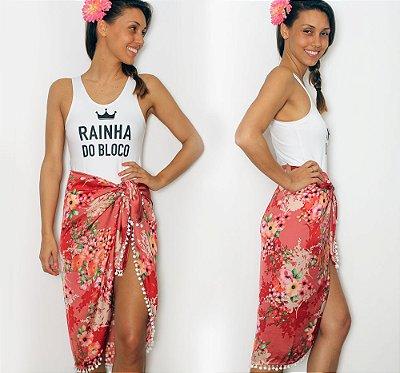 Body Rainha do Bloco + Canga!
