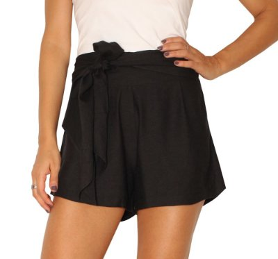 Shorts Sintra Preto