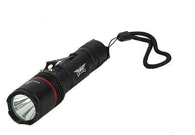 Lanterna Tatica Compacta Recarregavel XML L2 Modo Storbo Automático 8847
