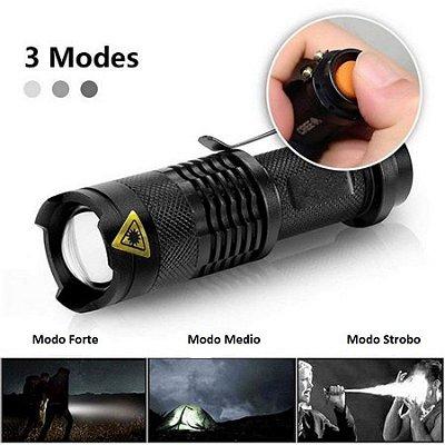 Lanterna Tática Uso Policial  Em Situação de Ronda