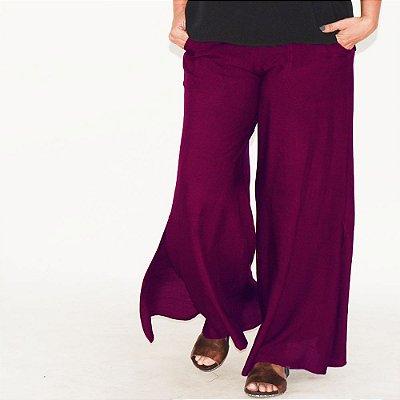 Calça Pantalona Flare Plus Size Diversas Cores