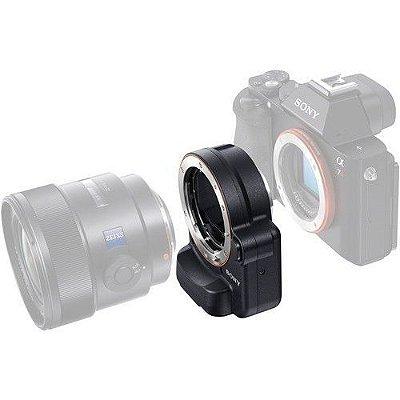 Adaptador LA-EA4 A-Mount para E-Mount de montagem de lente com tecnologia Translucent Mirror (Preto) - Sony