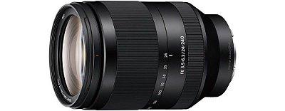 Lente SEL24240 FE 24 - 240mm F3.5-6.3 OSS - Sony