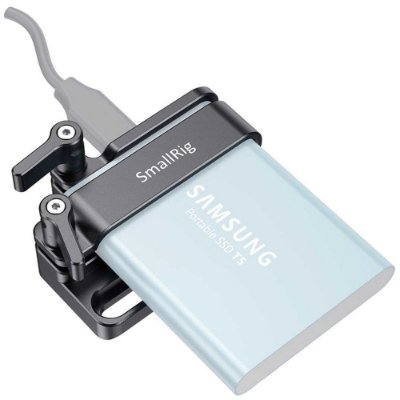 2245B - SmallRig montagem para uso com cage BMPCC 6K / 4K - HD SSD T5