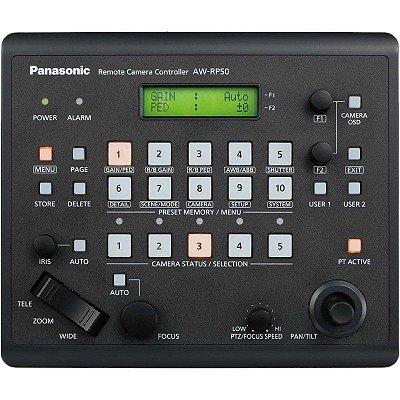 Painel de controle remoto AW-RP50N para 5 câmeras - Panasonic