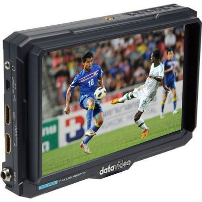 "MONITOR DATAVIDEO TLM-700K LCD 7"" 4K HDMI (COM ENCAIXE PARA BATERIA NP-F SONY)"