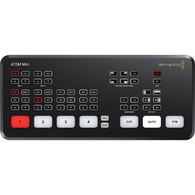 SWITCHER ATEM MINI HDMI LIVE STREAM BLACKMAGIC - SWATEMMINI