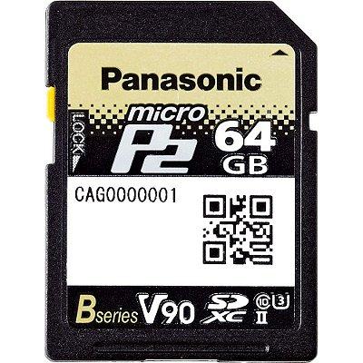 CARTAO MICRO P2 AJ-P2M064GB PANASONIC