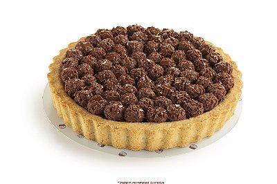 Torta de brigadeiro sabor noir (75% cacau)