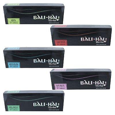 PACK COM 10 ESSÊNCIAS BALI HAI HERBAL 0% TABACO