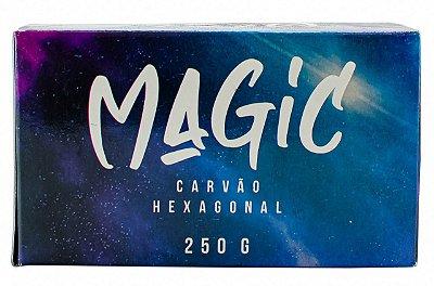 CARVÃO DE COCO HEXAGONAL MAGIC 250g