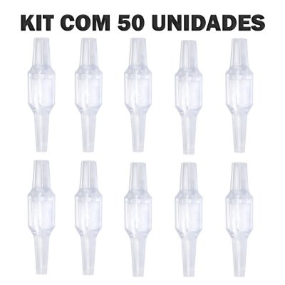 KIT COM 50 FILTRO DESCARTÁVEL PARA PITEIRA DE NARGUILE