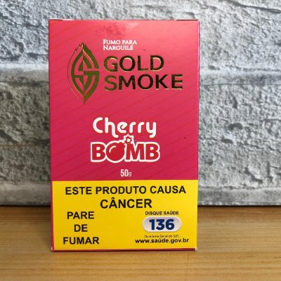ESSÊNCIA GOLD SMOKE 50g CHERRY BOMB (CEREJA)
