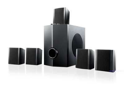 Home Theater 5.1 40W RMS Bivolt Multilaser SP087