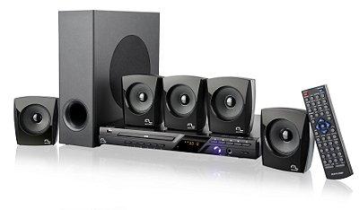 Home Theater Multilaser SP148 5.1 Canais com DVD Player, Karaoke, Entrada USB e Ripping 120 W