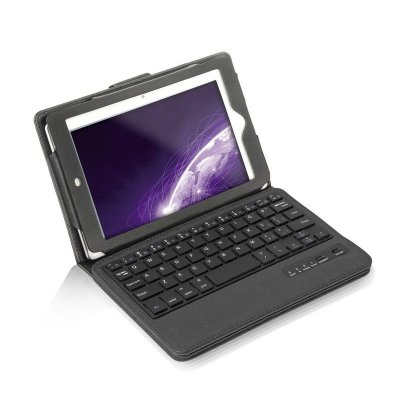 Teclado Mini Slim Multilaser Bluetooth Com Capa Para Ipad Mini -7.9 Pol TC170