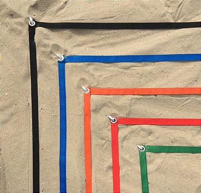 Marcação para quadra de Beach Tennis