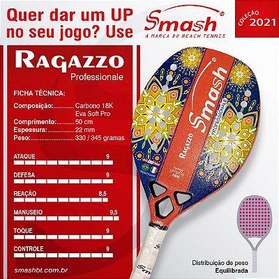 Raquete de Beach Tennis  - Smash BT – Mod. Ragazzo Professionale
