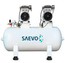 Compressor Odontológico para 4 Consultórios 150L 220v - Saevo